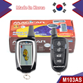 Newest 868Mhz two way car alarm magicar 103AS FM frequency modulation car alarm