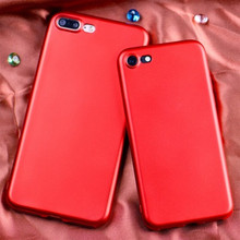 Wholesale 2017 New product Chinese Red mobile phone case covers Soft cell Phone Case phone cover for case iphone 7 case TPU