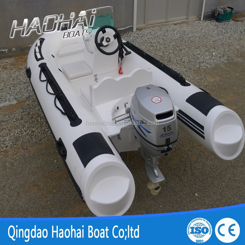 newest Mini type with console 3.6m fiberglass inflatable yacht RIB yacht