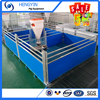 pig farm cages hot galvanized piglets nursery farrowing pig pen