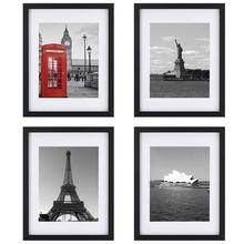 Wholesale Amazon Hot Selling A4 Black Picture Photo Frame