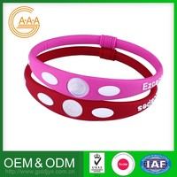 Hot Sell Custom-Made Fashion Silicone Bracelet Newest Design Low Price Powerful Balance Bracelet