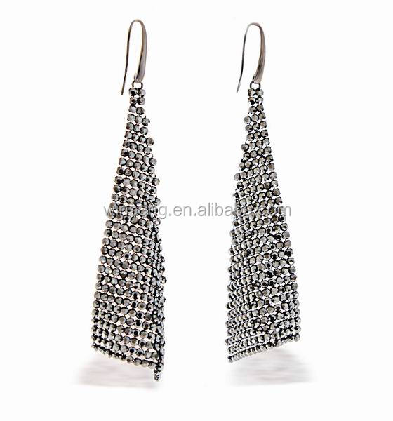 Hot sale 925 sterling silver Splendor Earrings with Crystals from SWAROVSKI