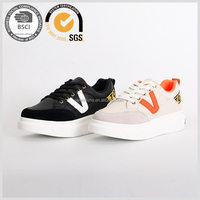 Hot sale fashion 2017 arrivals new desgin women's causal sneaker shoes