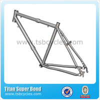 Fashion and special design titanium separable bike frameTSB-JTC1202