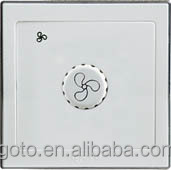 fan speed controller british standard CE wall switch