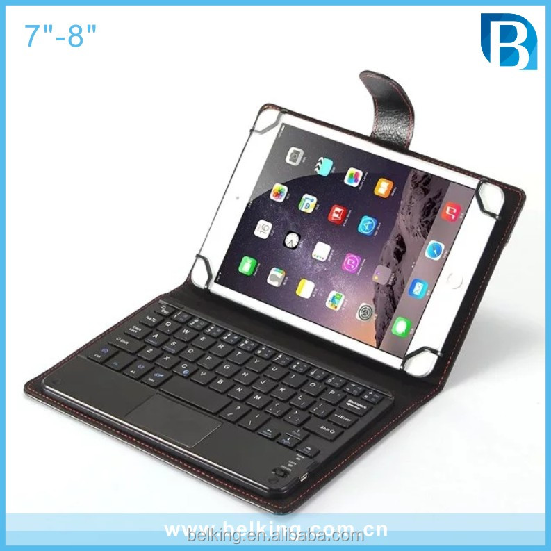 7 inch And 8 inch Tablet Bluetooth Wireless Keyboard Leather Smart Case