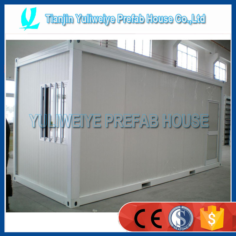 Popular Lowcost falt pack container house modular house