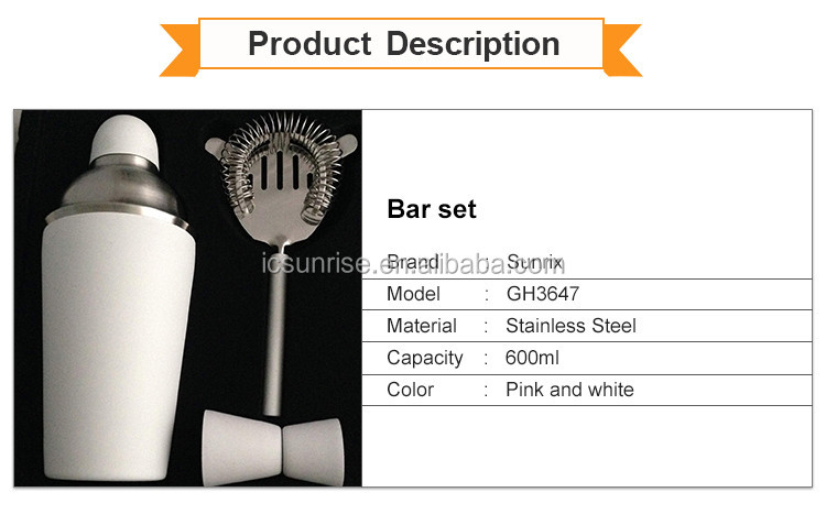Wholesale Cocktail Shakers Bar Set Tool Kit