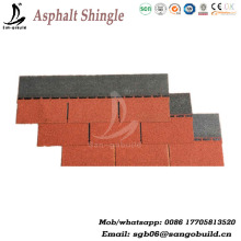 Durable Color Customized Roof asphalt shingle price philippines, cheap asphalt shingles price, fiberglass asphalt roofing