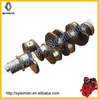Forging Steel Crankshaft 3974539/3968176/3974634 for cummin ISDe 4 cylinder Diesel Engine part