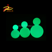 IP68 Plastic swimming pool led ball light /LED garden ball/rechargeable led ball light