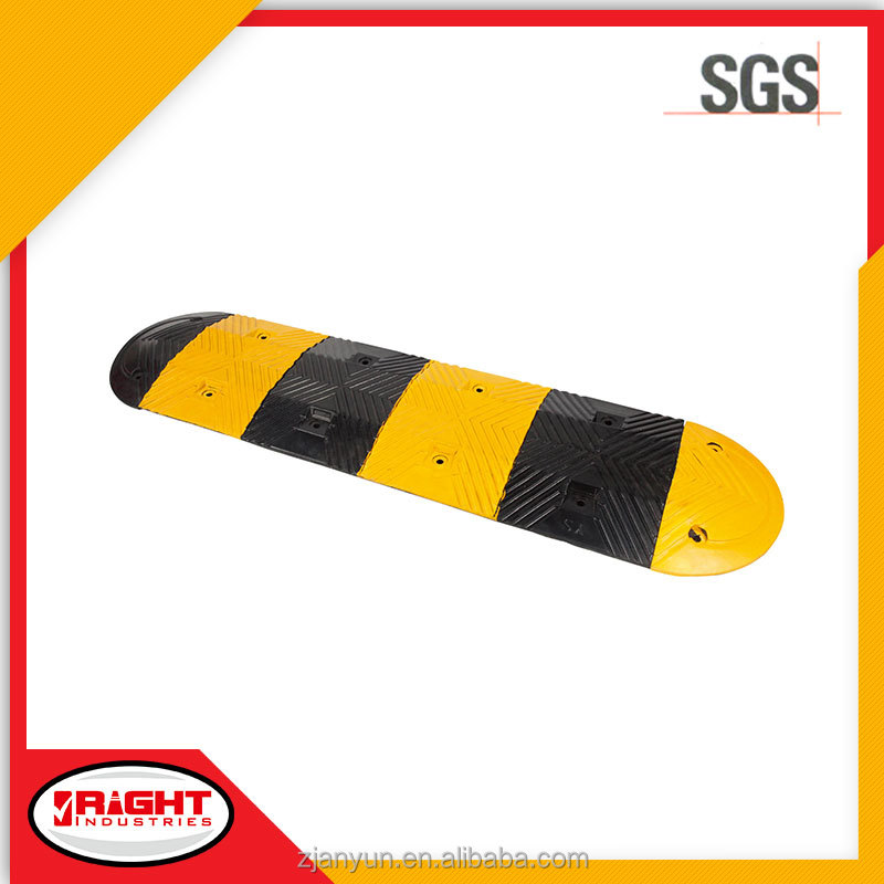 High Quality Portable Rubber Round Speed Hump