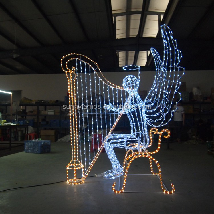 outdoor wholesale walmart led rope light christmas angel