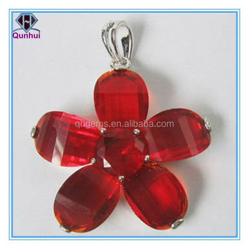Fabulous irregular shaped Garnet gemstone necklace
