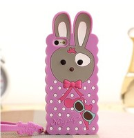 custom ecofriendly silicone cellphone case for iphone4s