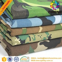 ripstop polyester cotton military camouflage fabric for clothing