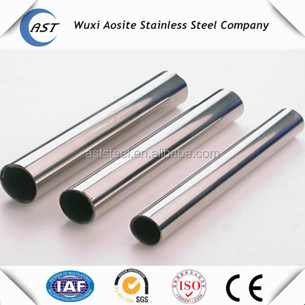 2016 New products 201 stainless steel pipe for sizes decoration with good quality