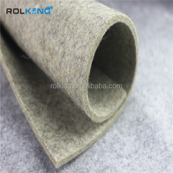 factory wholesale grey wool felt