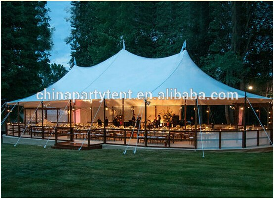tensile stretch wedding tent in China for wedding party ourdoor events