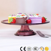 HOT SALE Color Glassware Manufacturer cake stand glass cup votive candle holder