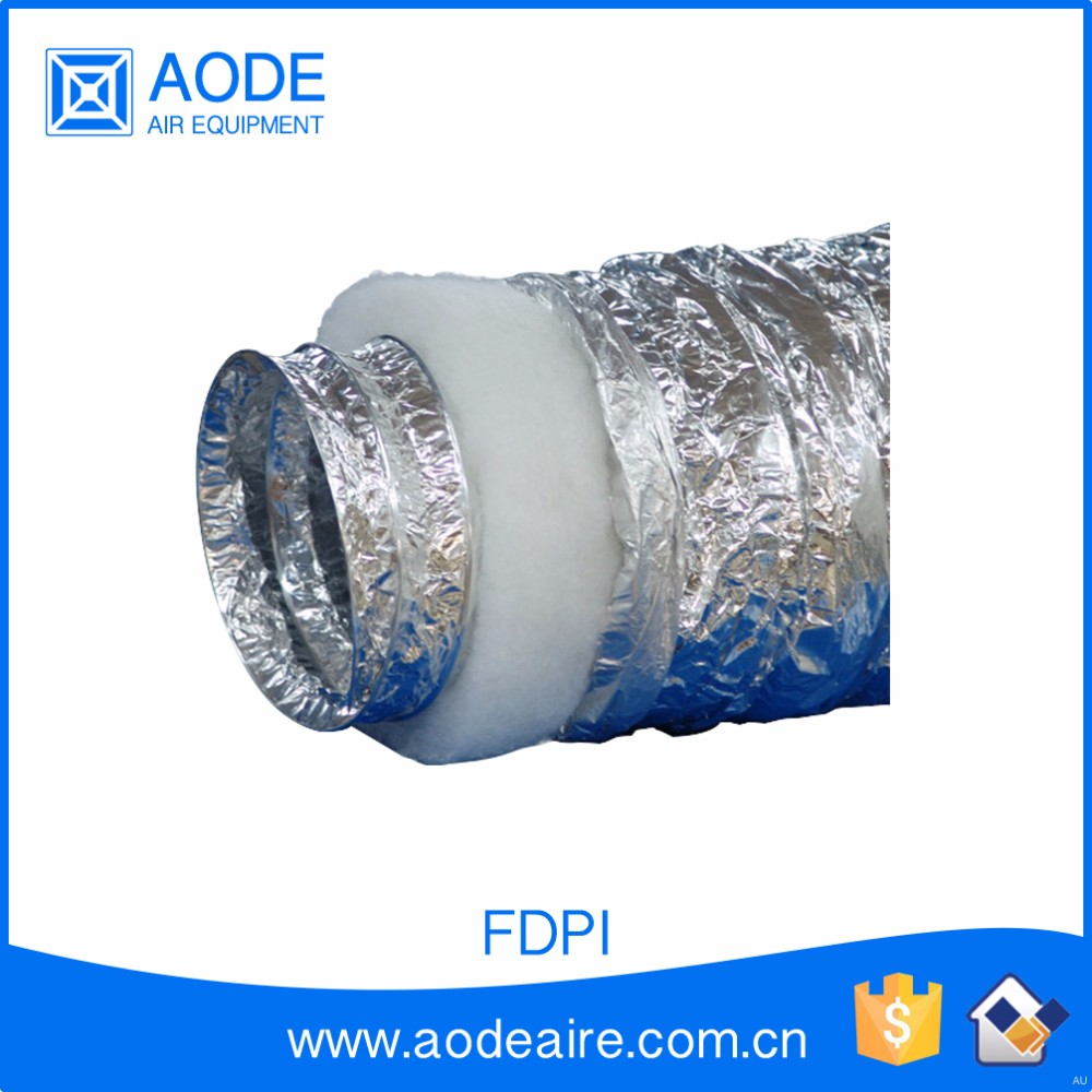 Air Conditioning Flexible Duct : Hvac air conditioner aluminum flexible pre insulated