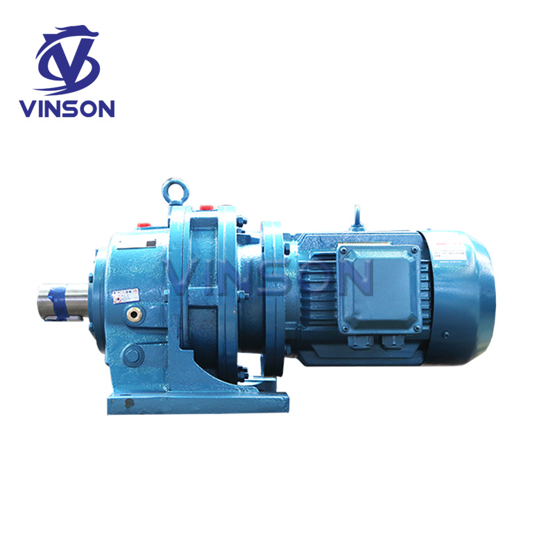 XB series 7.5kw cycloidal pin wheel speed reducer horizontal three-phase variable speed gear motor