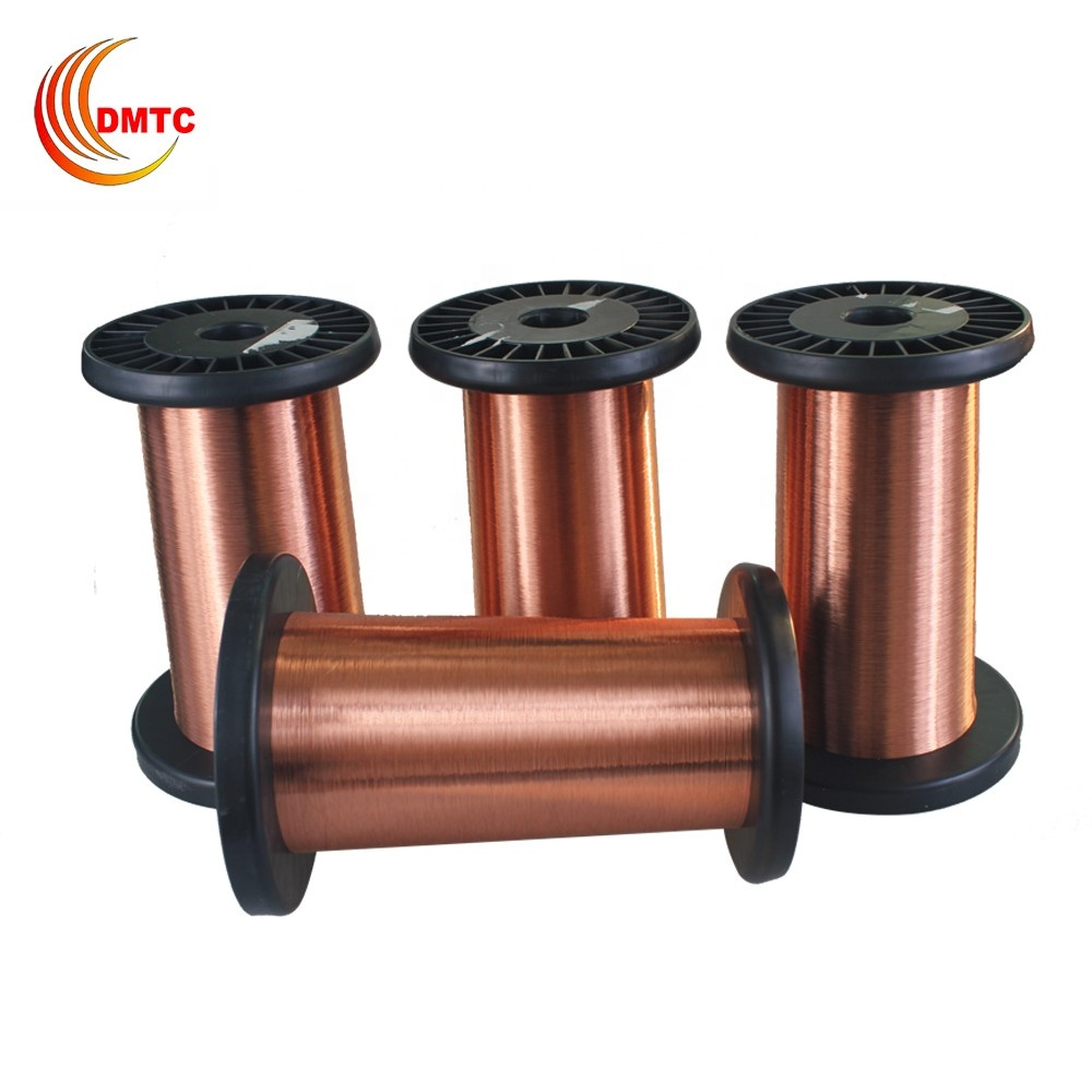 42 Awg Polyurethane Enameled Round Copper Wire