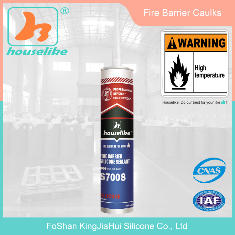ISO90001 Certified high temperature construction adhesive /fireproof sealant