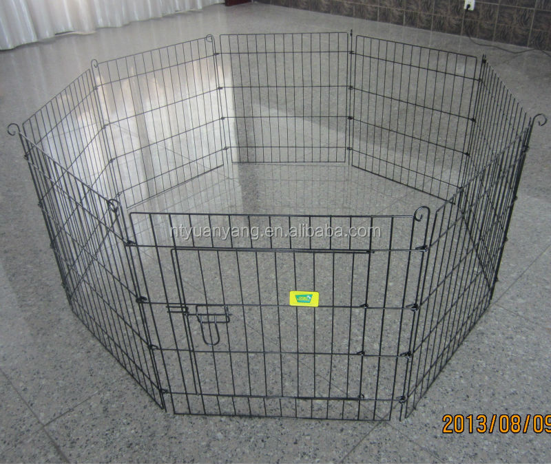 foldable outdoor metal pet dog Playpen Dog Exercise Pen