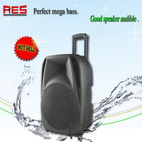 "Eco power speakers 15"" waterproof horn speaker bluetooth wireless audio sound system for sale"