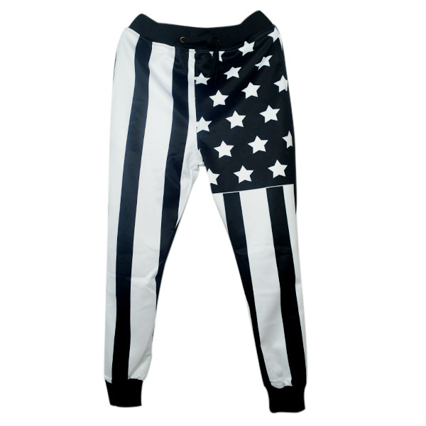 The United States flag trousers 3D printed men sweatpants Jogging pants