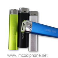 Gift power bank 2600mah,lipstick power bank,2600mah power bank