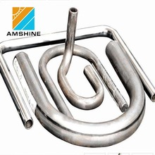 polished inox steel elbow/stainless steel pipe bends for tube fittings