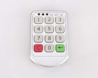 Electronic digital number lock for cabinet