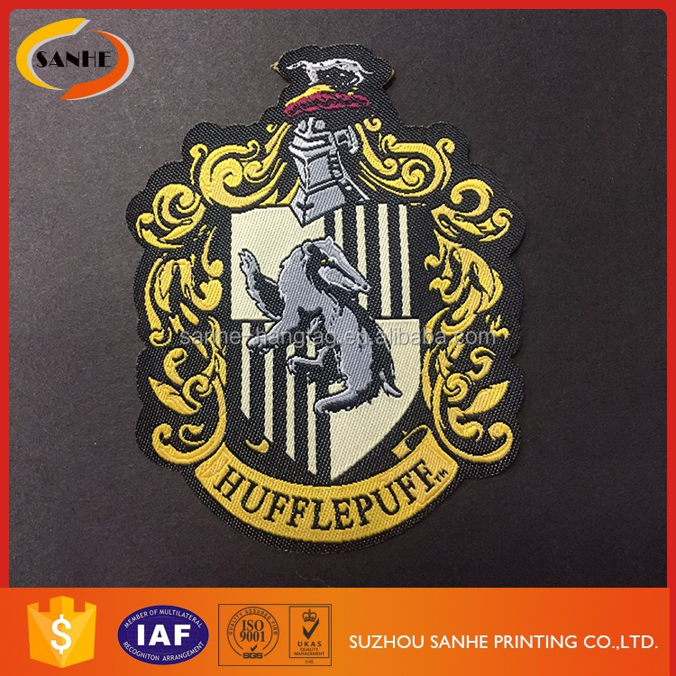 Wholesale Garment Embroidery Logo Woven Custom Badges