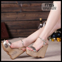 S8008 sandals for women 2013 new model wedges high heels fashion rhinestone dress shoes pumps sandals