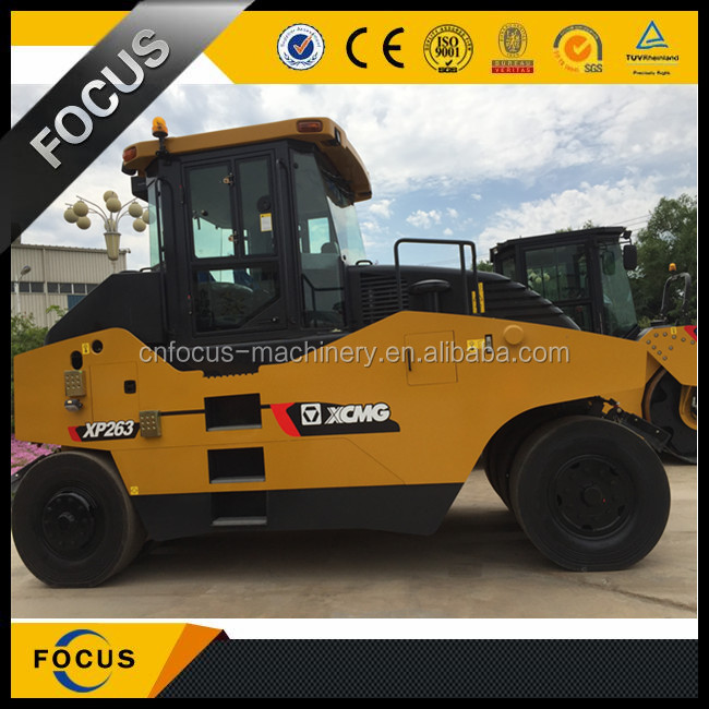 XP263 XCMG 26 ton tire compactor rubber tire road roller for sale