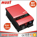 MUST Hybrid solar system Pure sine wave 48VDC 8000W dual output Inverter