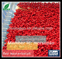 Popular color plastic masterbatch bright red