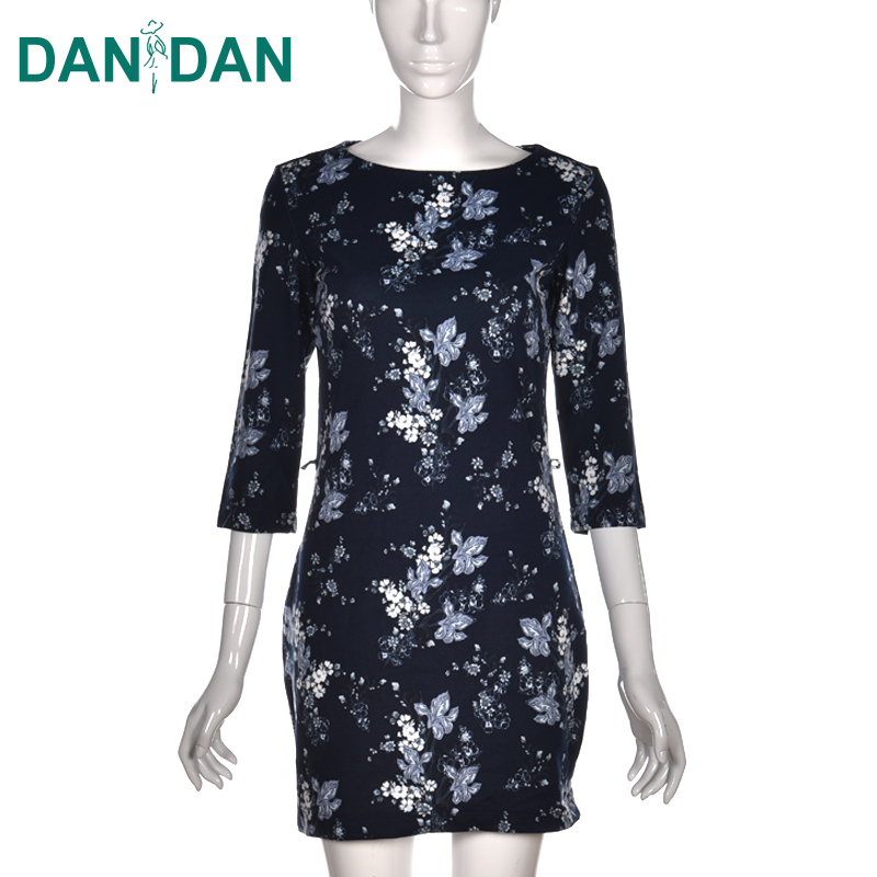 Cheap beautiful designer ladies wholesale custom summer patterns women floral dress