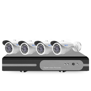 Mass production security system  4ch cctv  ahd  camera kits