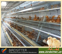 2015 Hotsale A type layer egg chicken cage poultry farm house design for African market