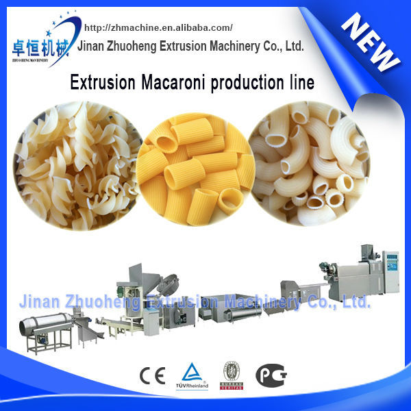 hot new products for 2015 long macaroni/pasta making machine