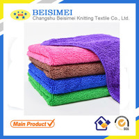 Big Coral Fleece Towel Most Absorbent Towels Microfiber Fabric Microfiber Terry Cloth Fabric Clean Wipe Prudcts