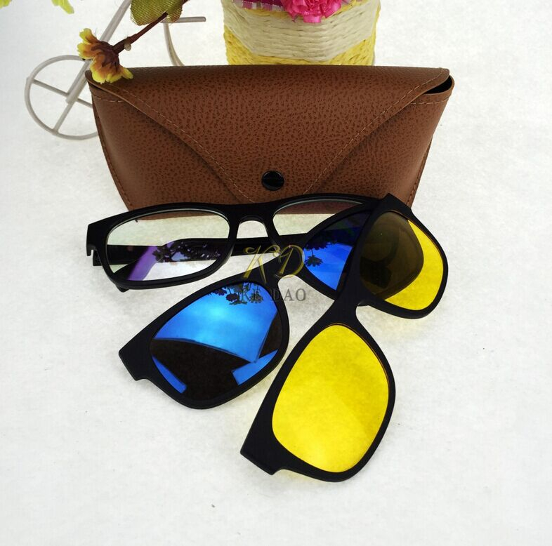 3 in 1 stylish sunglasses with quick change magnet lenses & polarized sunglasses wholesale