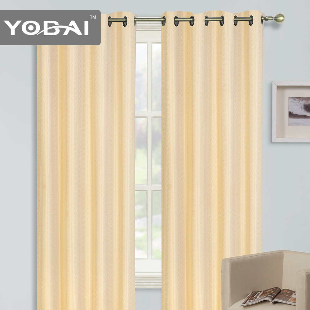 Fashion New Design Style Two Way Jacquard Curtains For Home