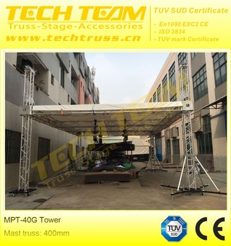 Tower system lift tower truss aluminum truss tower lift