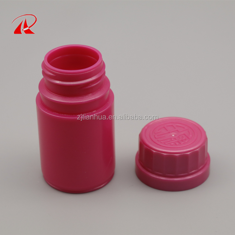 Custom color 150cc HDPE pill bottle for capsule/150ml Herbal Supplements bottle
