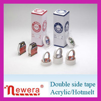custom printed natural double sided carpet tape